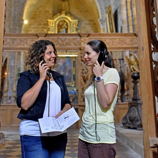 Chambon Abbatiale Sainte Valerie Visite Audioguide J.damase 2015 6