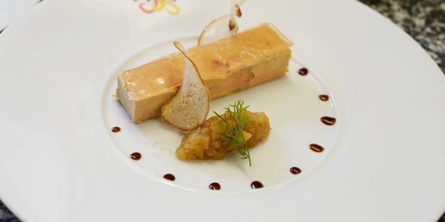 Coq Or Chenerailles Foie Gras