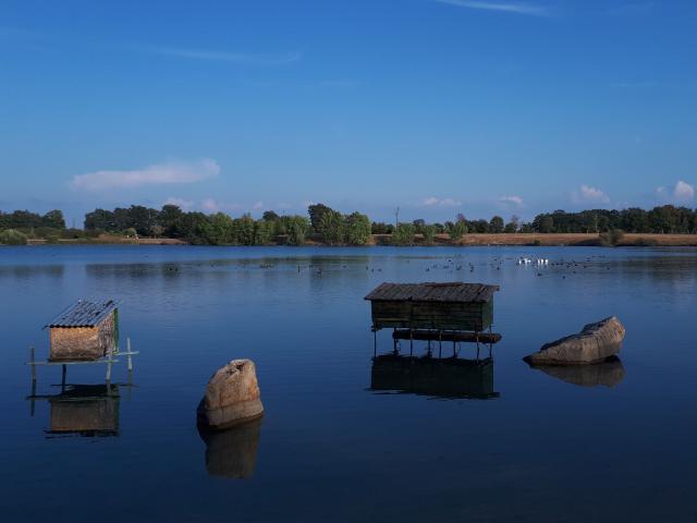Réservoir de pêche de Grands Champs