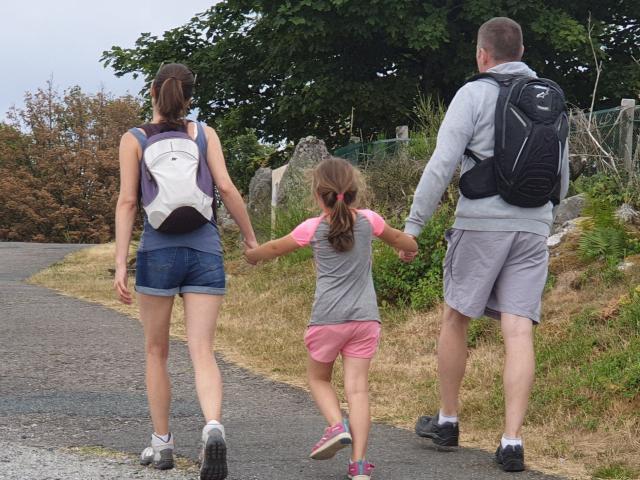 Rando famille couple 1 Enfant