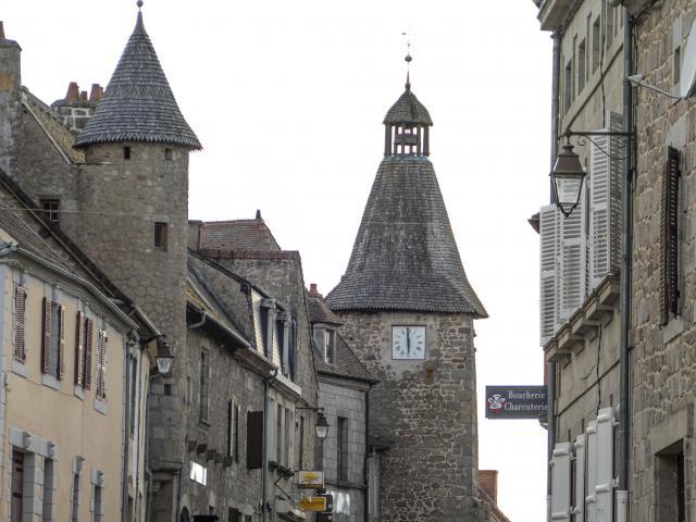 Bellegarde en Marche - Tour de l'Horloge
