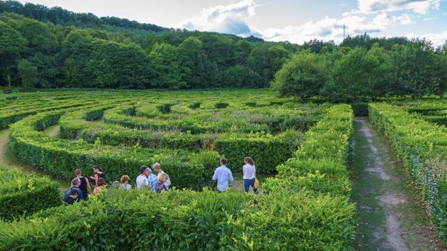 Labyrinthe Géant de Guéret ©S.Frey