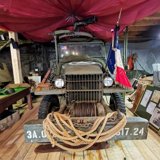 Véhicule militaire Musée de la Résistance