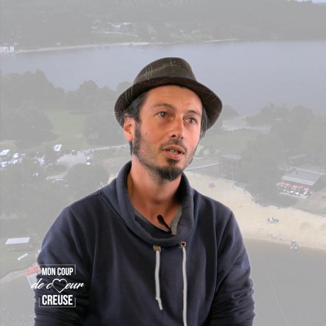 Jérémie Boos, animateur Lac de Vassivière