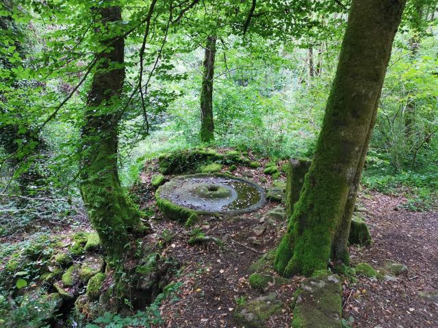 Moulin à chanvre aux cascades d'Augerolles