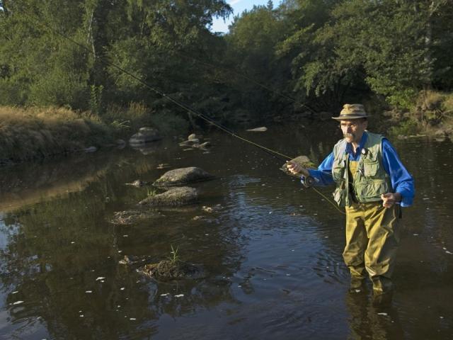 Pêche en rivière en Creuse