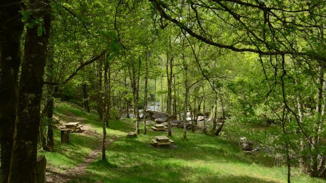 Aire de picnic des gorges du Thaurion