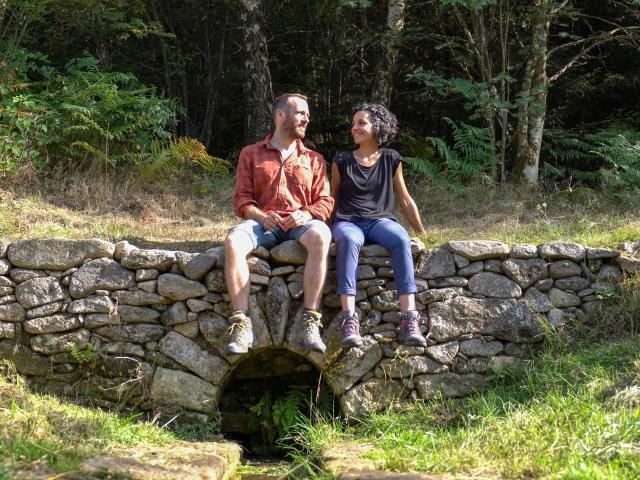 Randonnée en couple - PNR Millevaches