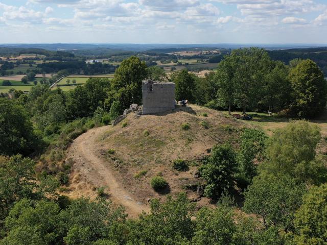Panorama depuis la tour de Sermur