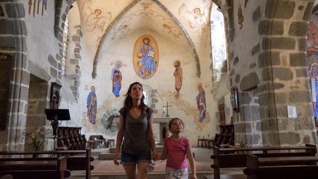 Eglise Saint-Jacques à Auzances