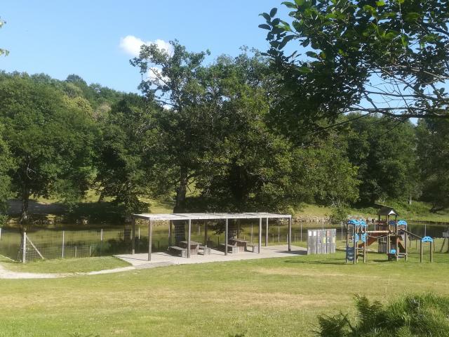 Auzances, parc de Coux