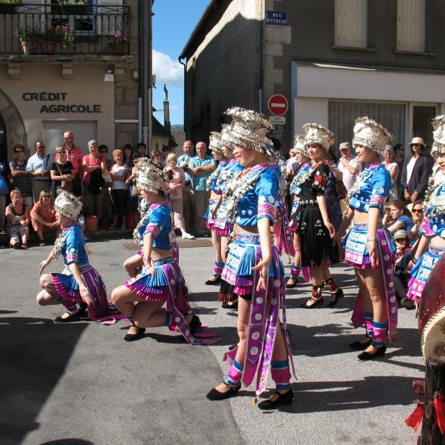Felletin Festival danses musiques et voix du monde