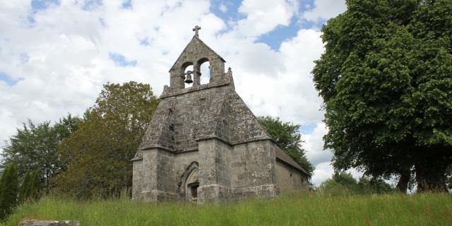 église Ste Madelaine - village de Pallier