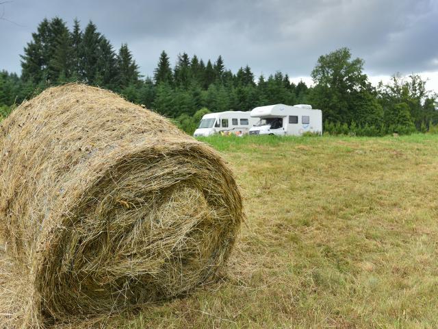 Aire de camping car d'Auriat