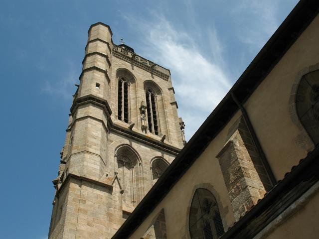 Clocher église Du Moutier Felletin