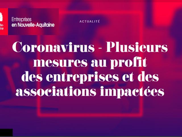 Coronavirus Aides De La Région Nouvelle Aquitaine