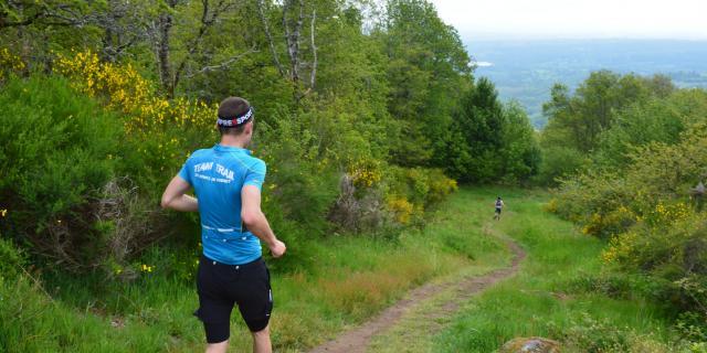 Trail en Creuse