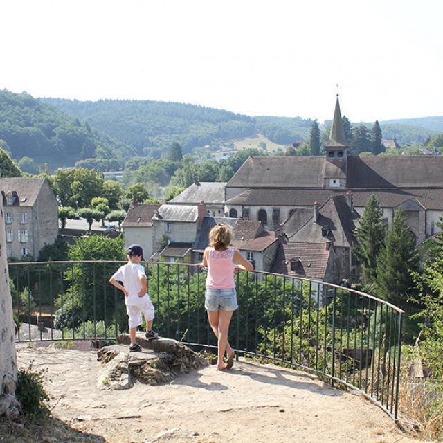Panorama Aubusson Tour De L'horloge