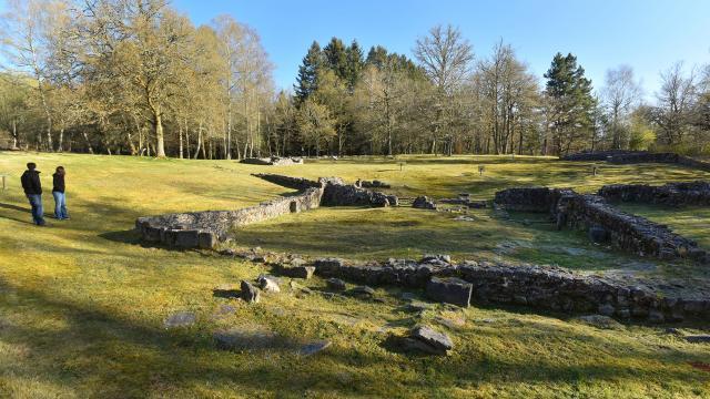Pays Sud Creusois-Villa Gallo-Romaine de Maisonnères à Gioux-23