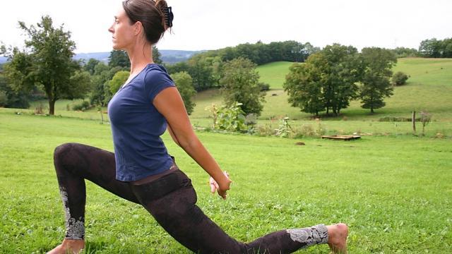 Yoga Creuse Stage Abbey Fuchs équilibre Et Mouvements