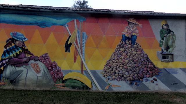Fresque Mako Moya