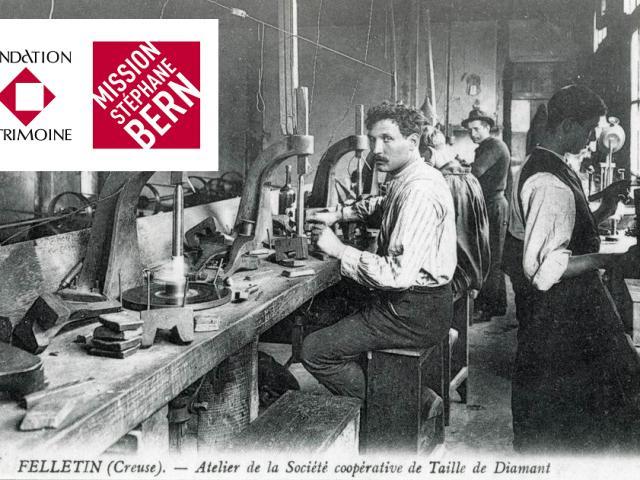 Diamanterie Felletin Fondation Du Patrimoine Mission Stéphane Bern