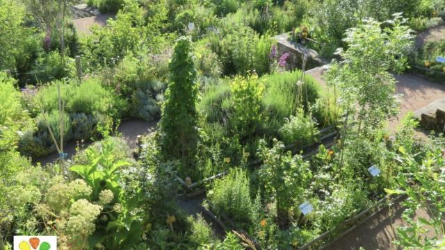 Jardins de Bénévent l'abbaye