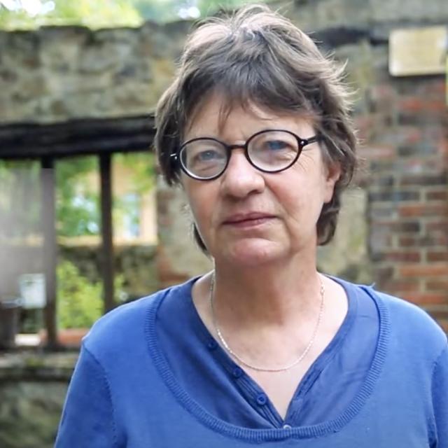 Brigitte Riberolle, Mediatrice Culturelle Tuilerie De Pouligny 1