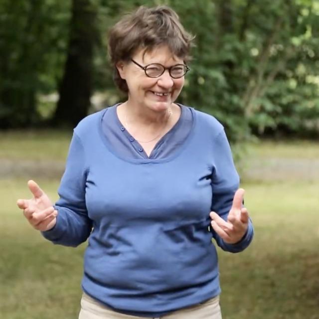 Brigitte Riberolle, Mediatrice Culturelle Tuilerie De Pouligny 2