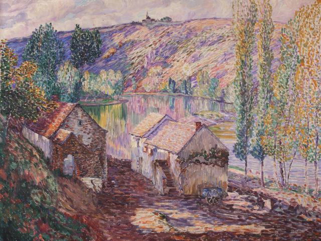 Detroy Léon Moulin Du Pin Musee Bertrand