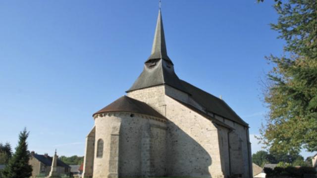 Eglise De Sagnat Creuse