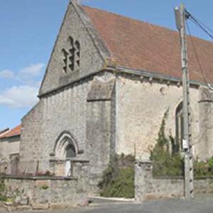 Eglise de Lafat