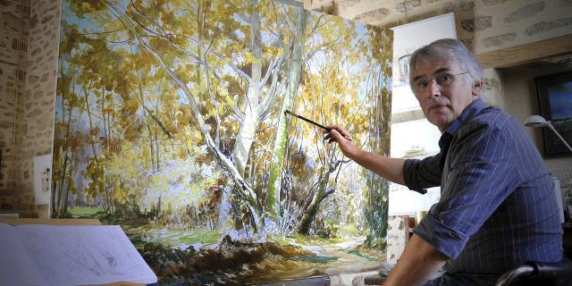 Laberthonniere Artiste Peintre En Creuse