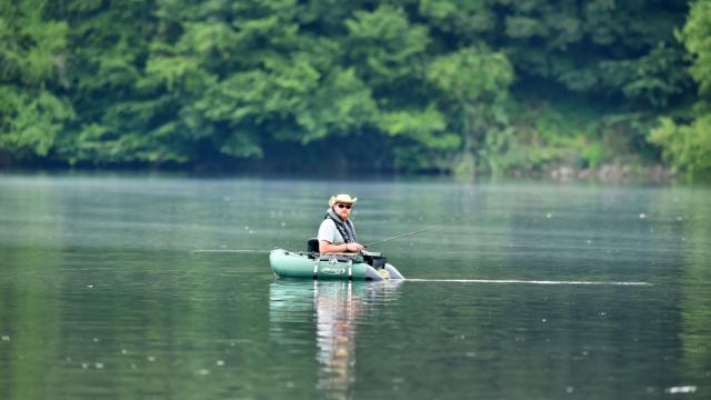 Pêche au lac du Bourg d'hem