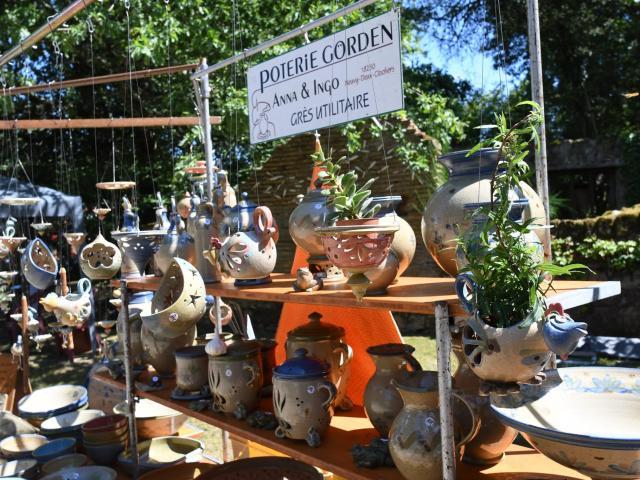 Marché de Potiers, Tuilerie de Pouligny (Creuse)