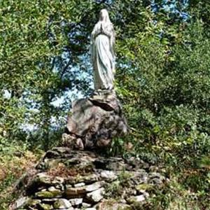 Oratoire À Notre Dame De Lourdes