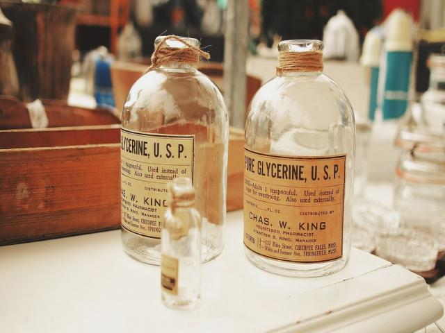 Bouteilles Pharmaceutiques
