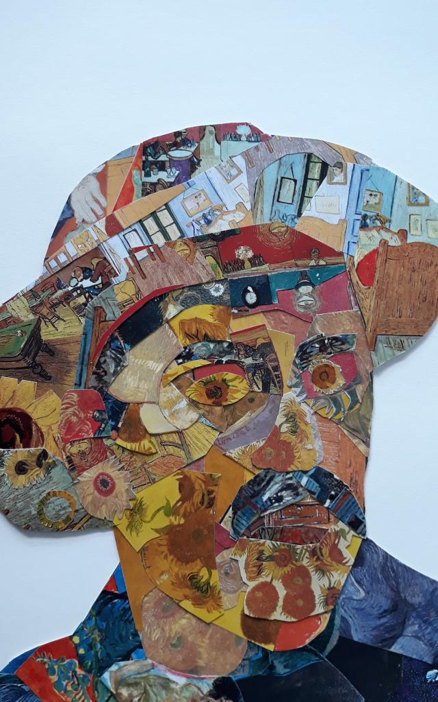 E.ubretgi, Paul Vu Par Vincent, 40x30