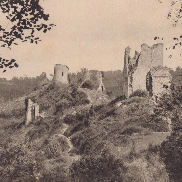 Vue Sur Les Ruines, Années 30