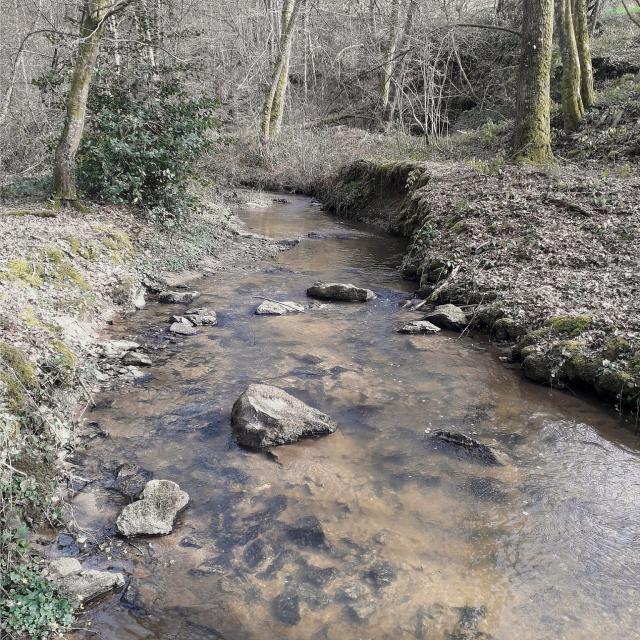 Rivière Par Monts Et Par Gués