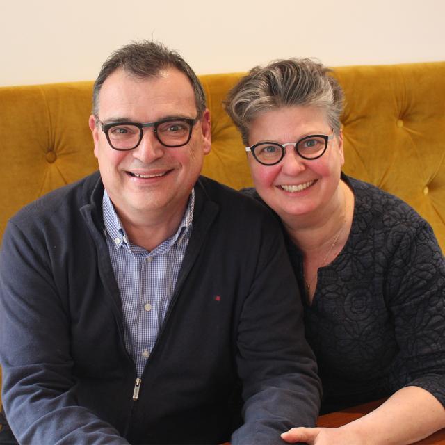 Portrait Lisette Et Eric Hotel La Beauze Aubusson