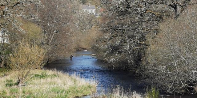 Pêche sur la Creuse