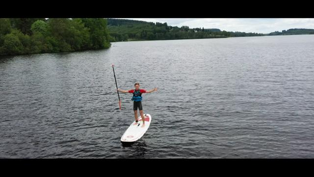 Paddle Lac De Vassiviere 1