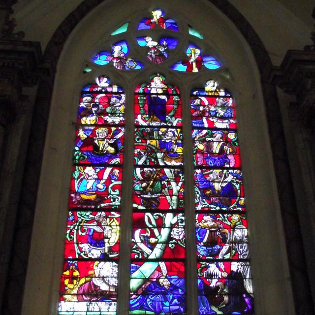 Arbre De Jessé Notre Dame De La Borne