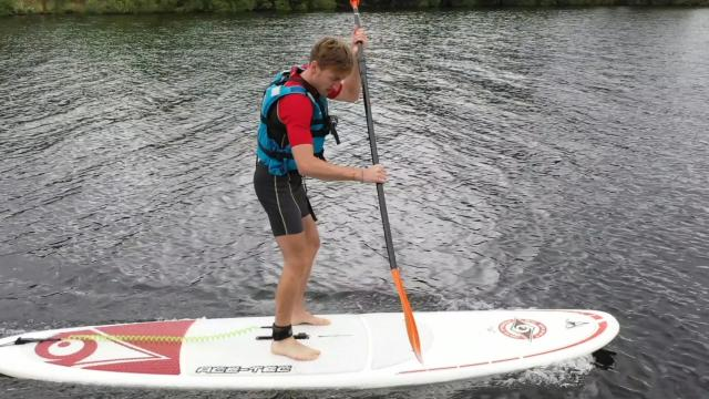 Paddle À Vassivière Brice Koh Lanta