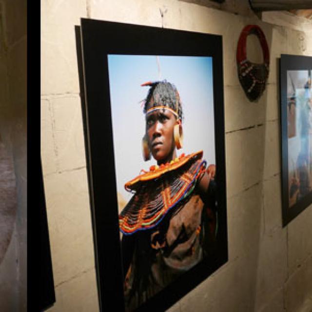 Exposition Nomades de l'ethno-musée Anako