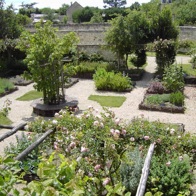 Jardin médiéval de la Tour Carrée