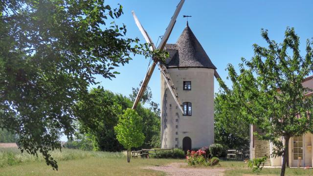 Moulin du Gué Sainte-Marie aux Trois-Moutiers