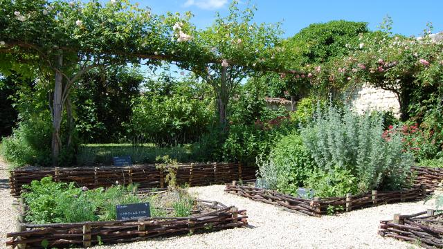 Jardin d'inspiration médiéval
