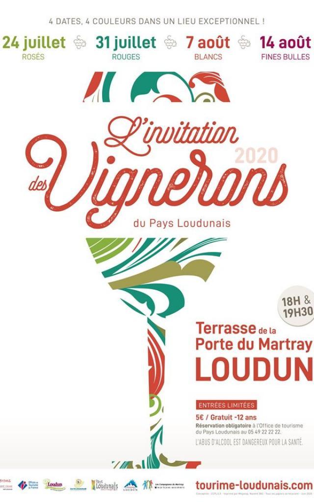 Affiche Invitation Des Vignerons 2020